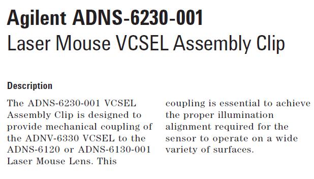 Agilent ADNS-6230-001