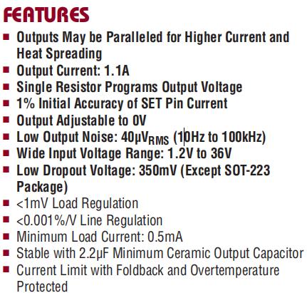 LT3080EST Features