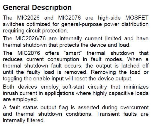 MIC2026-1YM General Description