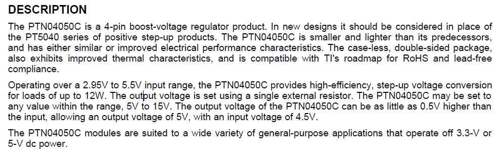 PTN04050CAD DESCRIPTION