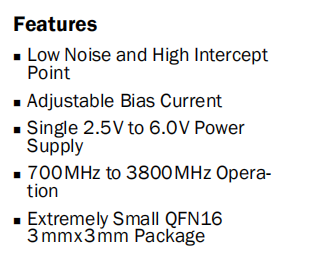 RF3863 Features