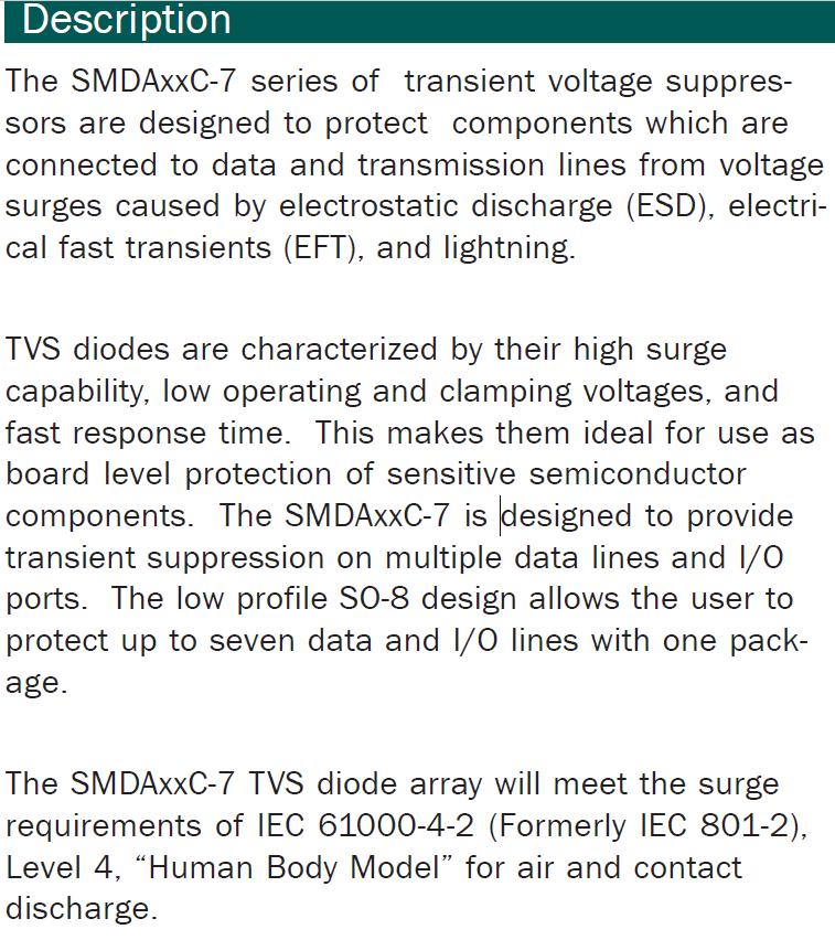 SMDA24C-7.TBT Description
