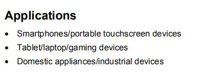 VL6180XV0NR/1 Applications