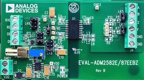 ADM2582EBRWZ Application board