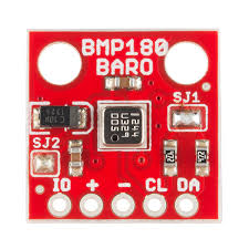 BMP180 on the PCB