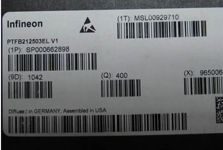 PTFB212503EL label