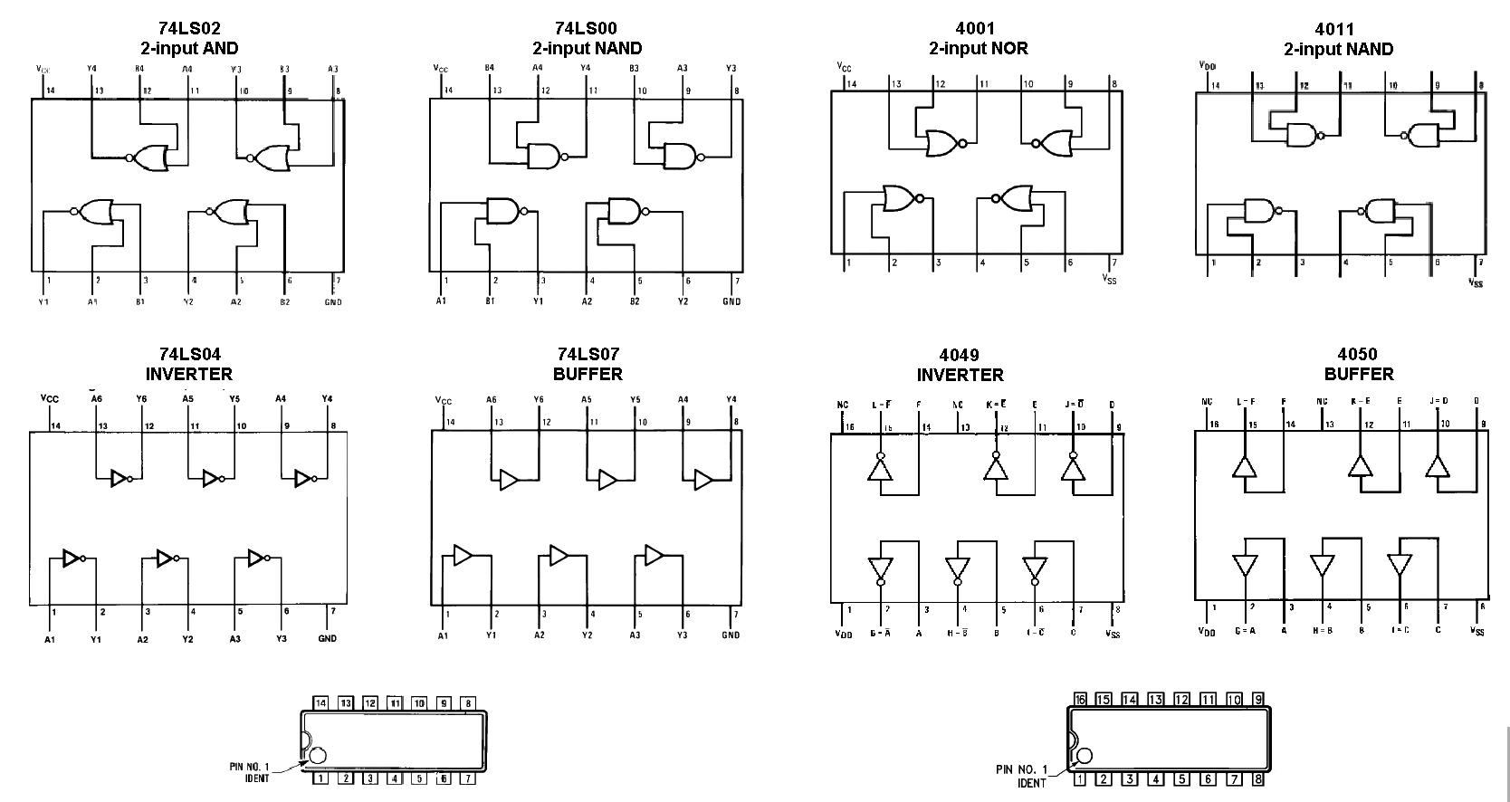 Logic IC Schematic