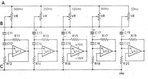 Equalizer IC circuit