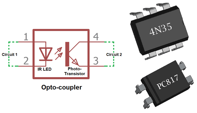 Optocoupler IC