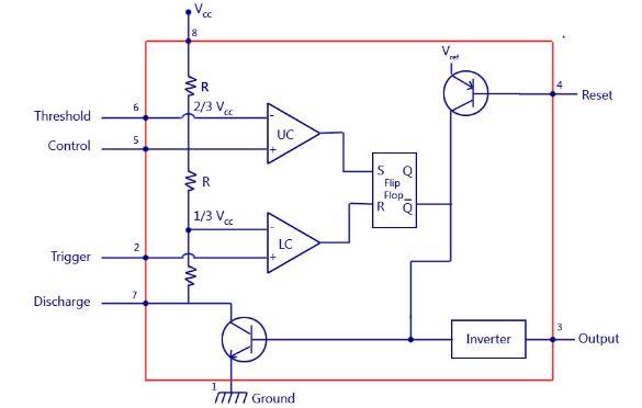 Tmer IC Circuit
