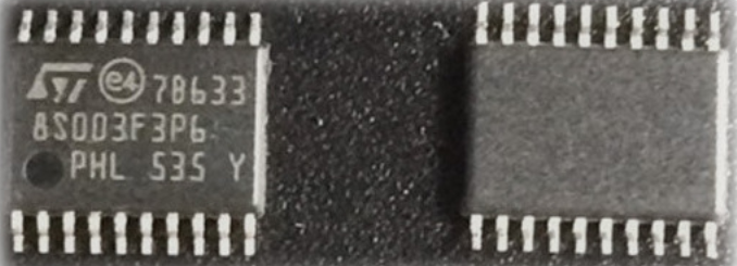 STM8S003F3P6TR distributor