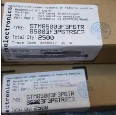STM8S003F3P6TR price